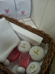 perlengkapan mandi ala hotel berbintang