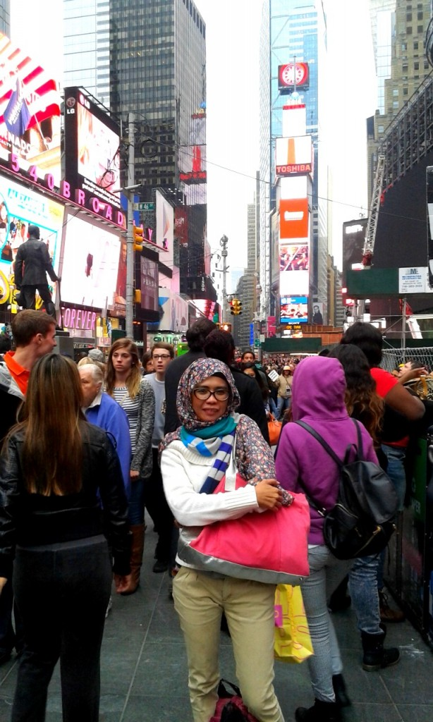 At Times Square