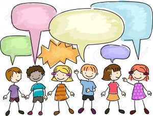 8906476-Illustration-of-a-Group-of-Kids-Talking-Stock-Illustration-talking-children-people